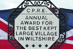 Best Kept Village Sign
