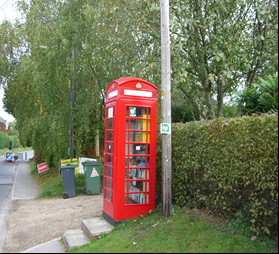 Rushall's Defibrillator Phone Box